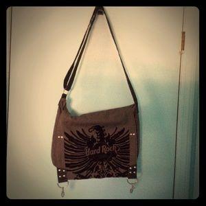 🖤 🎸 Hard Rock Cafe Messenger Bag 🎸🖤